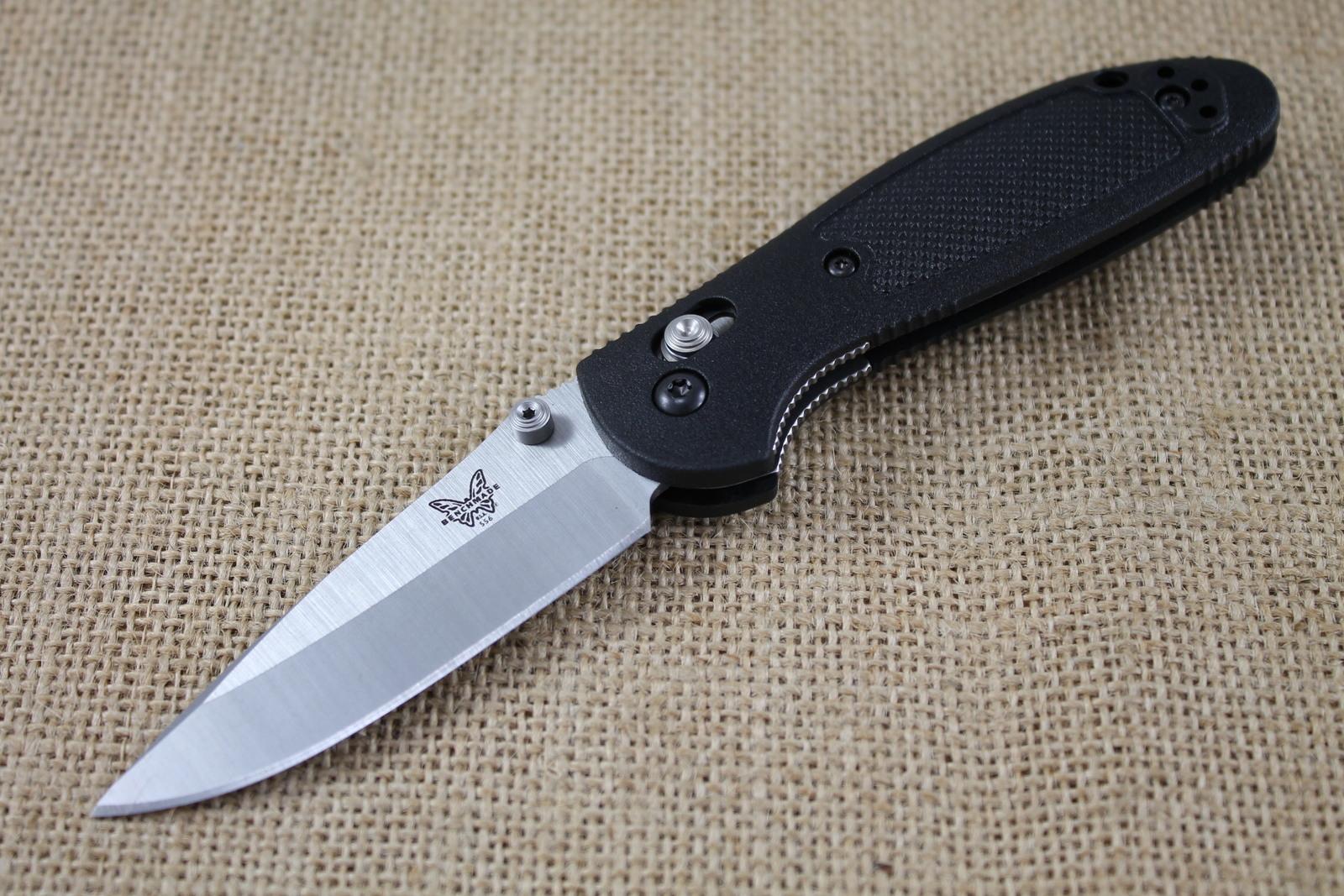 Benchmade 556 Mini Griptilian Review Pocket Knife Info